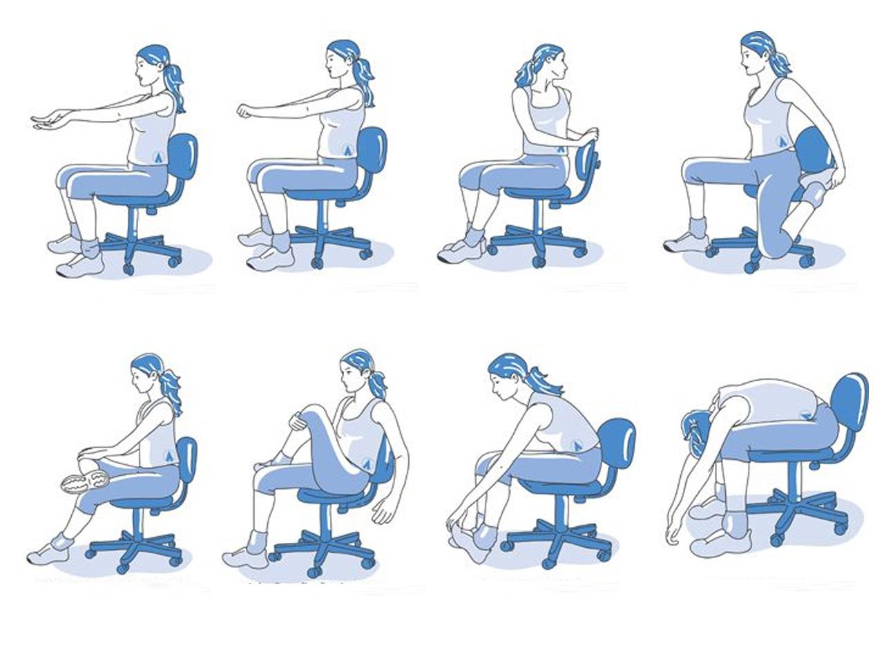 Dolor de espalda causas y recomendaciones para su manejo for Estiramientos oficina